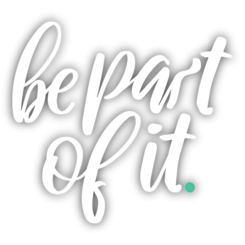 Be part of it_Type Logo